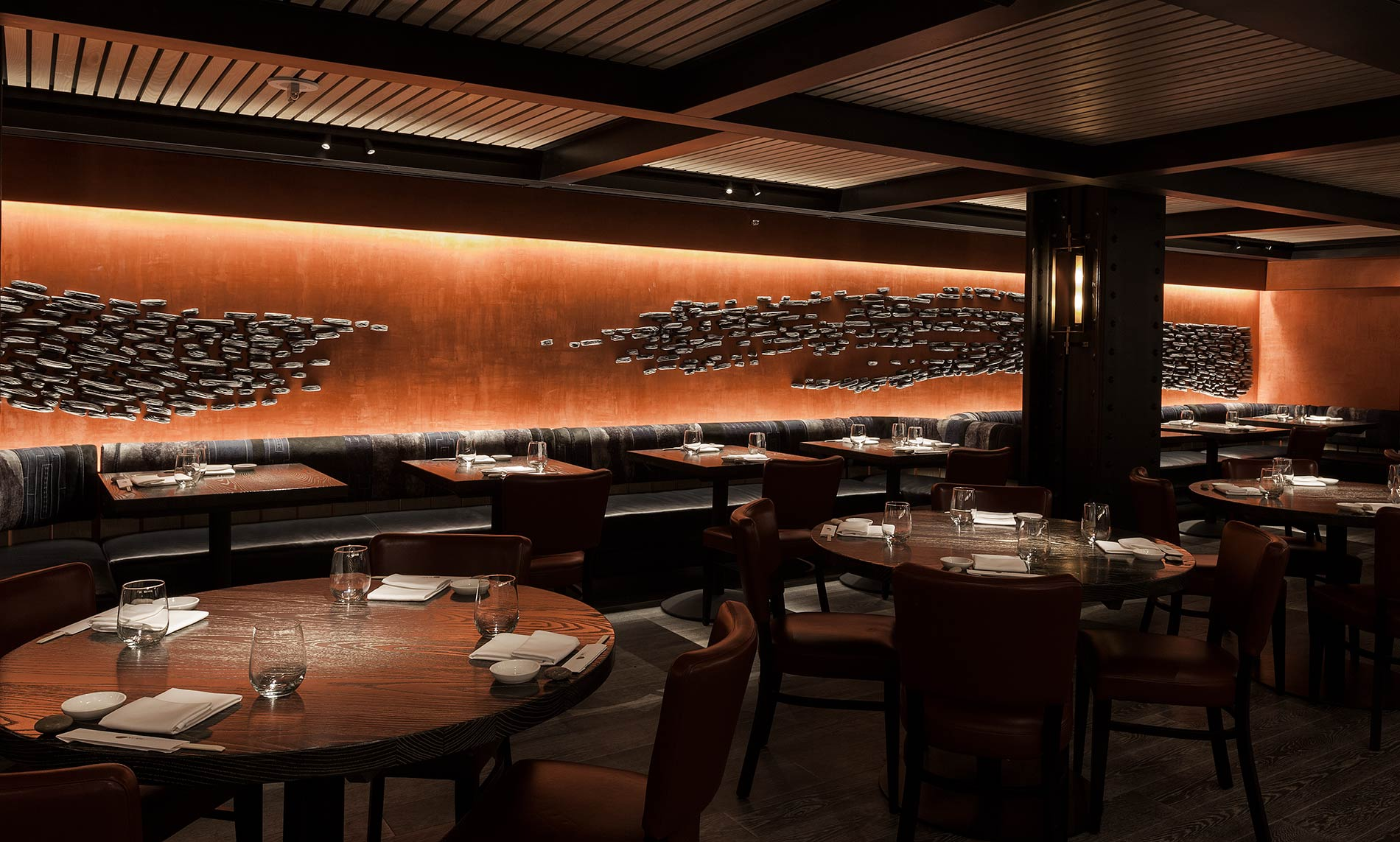 Nobu downtown pascale girardin for Restaurant interior design app